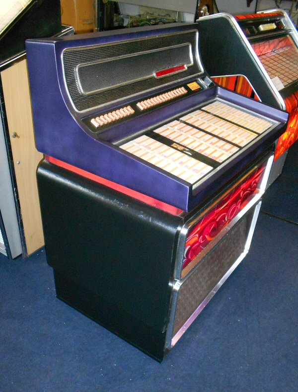 Wurlitzer Baltic jukebox
