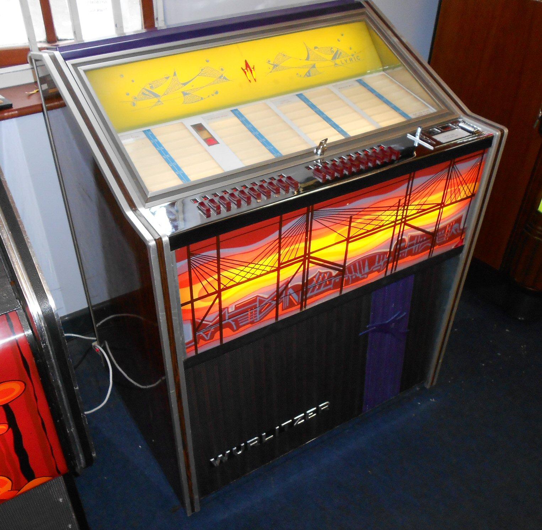 Wurlitzer Lyric F jukebox.