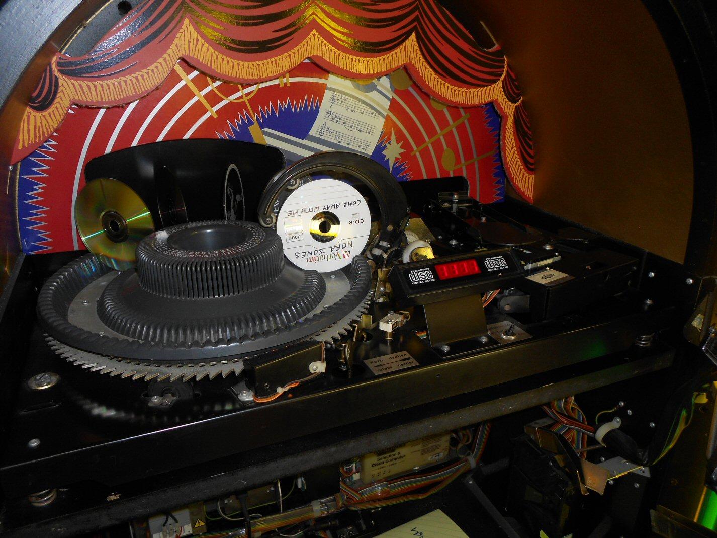 Wurlitzer One More Time CD jukebox