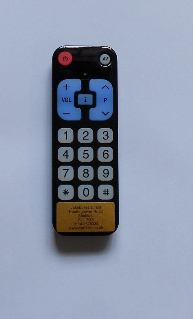 Wurlitzer One More Time Remote Handset