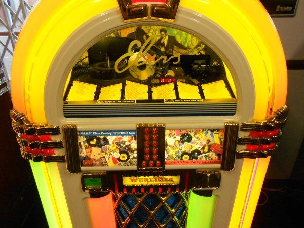 Wurlitzer One More Time Elvis jukebox.